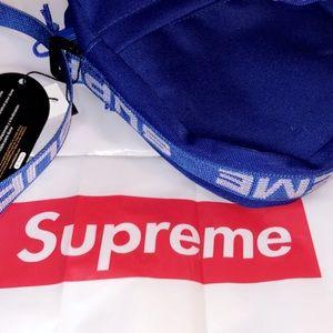 Supreme Should Bag [SS18] Blue